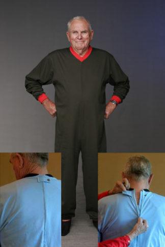 Men's Winter Pyjama | Men's Winter All-in-One | Easywear Australia