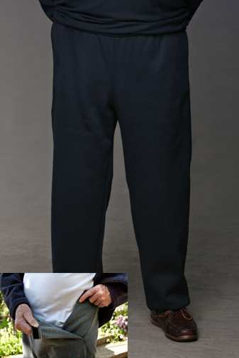 Track Pants(Adapt) | Polycotton Fleece track pant | Easywear Australia