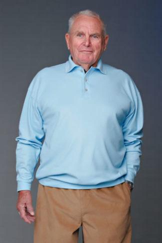 Men's long-sleeved Polo (Adapt) | Easywear Australia